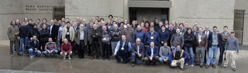 Group photo during the 15th Super B Workshop held at Caltech (December 2010)