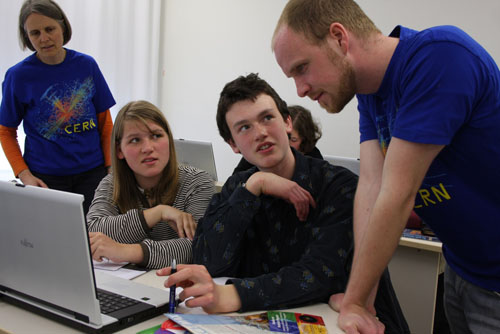 Students and tutors during a masterclass session in 2010 at Dresden University of Technology in Germany. Image: Uta Bilow.