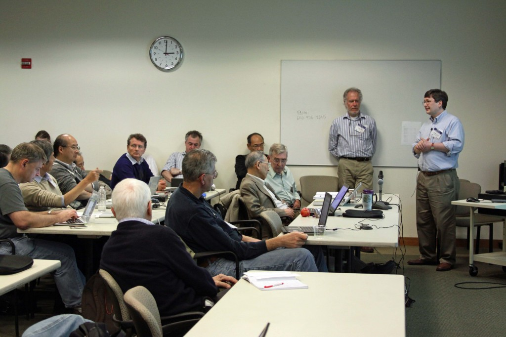 Discussions of the proposal to relocate the positron source during the Baseline Assessment Workshop at SLAC in January 2011.