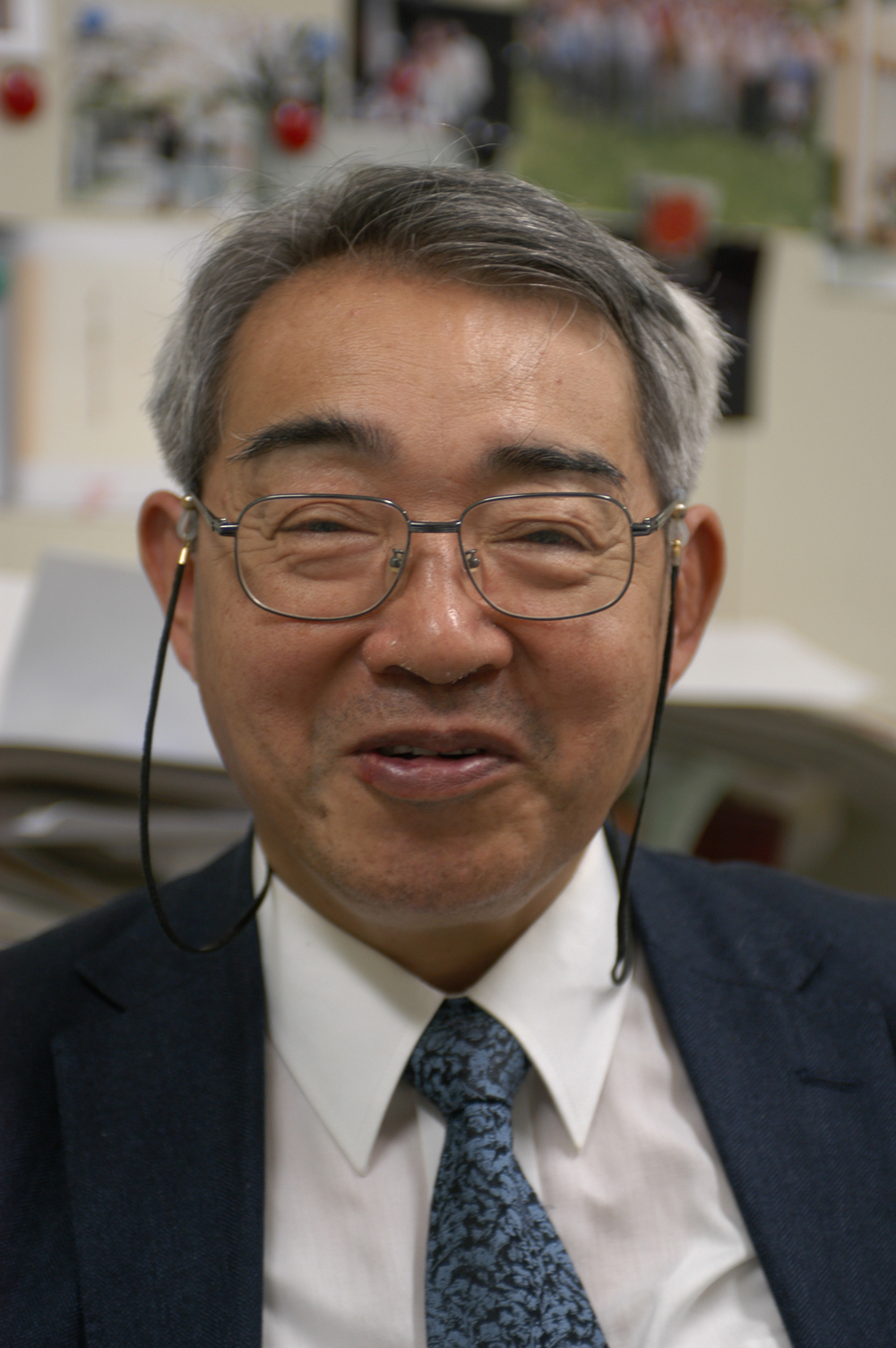 Shin-ichi Kurokawa of the KEK Laboratory at Tsukuba, Japan