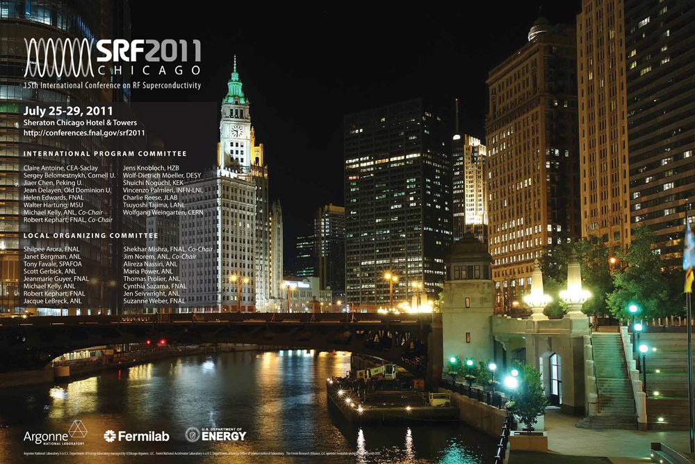 The second workshop on superconducting radiofrequency technology and industralisation for the ILC will be a satellite meeting of the SRF2011 conference, on 24 July 2011 in Chicago.
