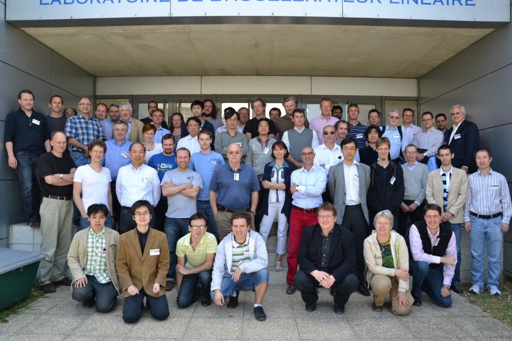 ILD workshop participants. Image: Bruno Mazoyer (LAL)