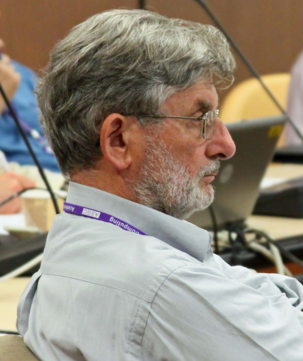 Jean-Eudes Augustin, former PAC chair, during the review