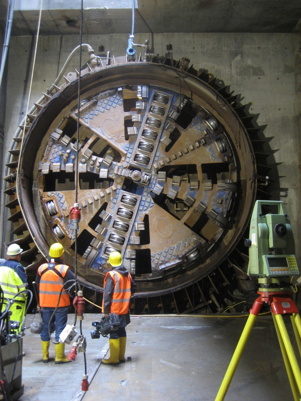TULA tunnel boring machine