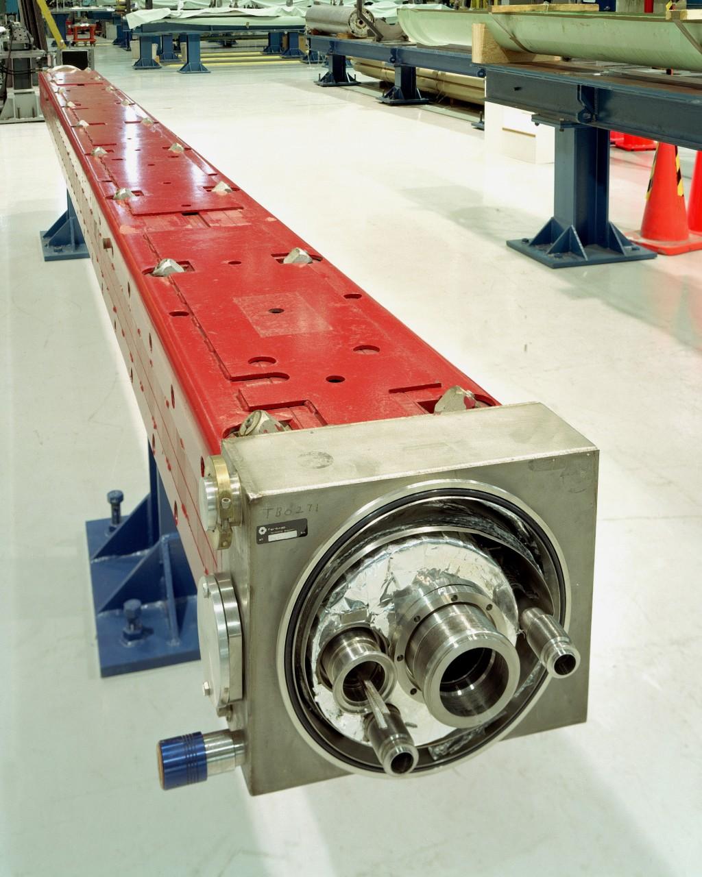 Tevatron superconducting magnet. Image: Fermilab