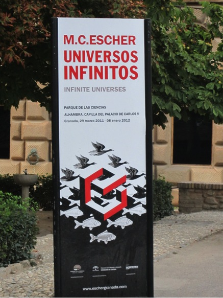 M.C. Escher exhibit at the Alhambra on infinite universes captures the spirit of the multiple possibilities for the future of particle physics