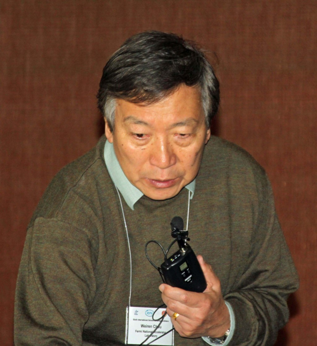 Weiren Chou, Fermilab. Image: ILC