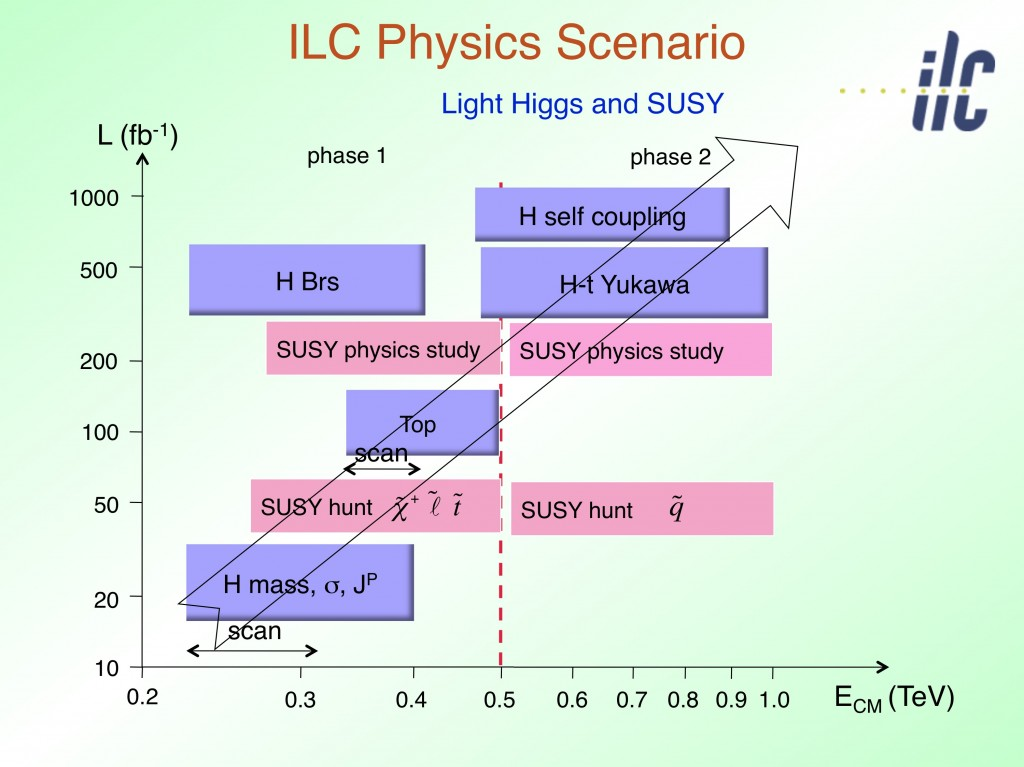 A possible ILC physics scenario