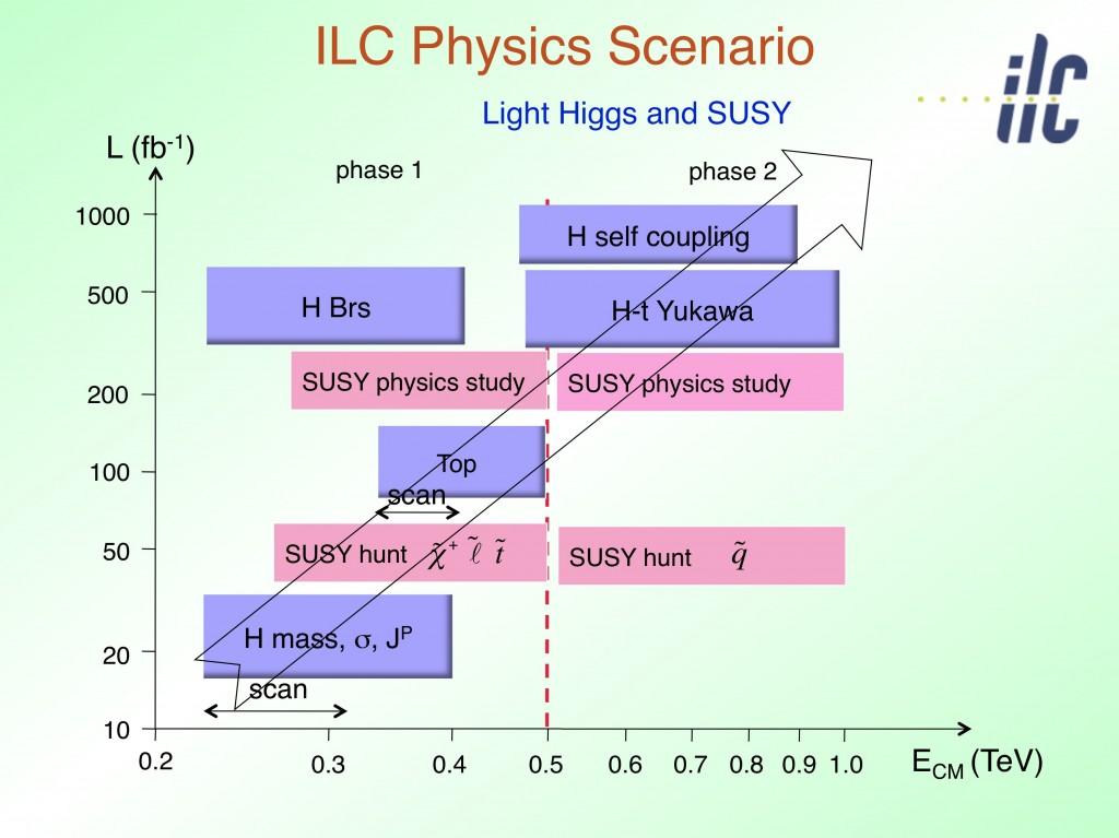 A possible ILC physics scenario