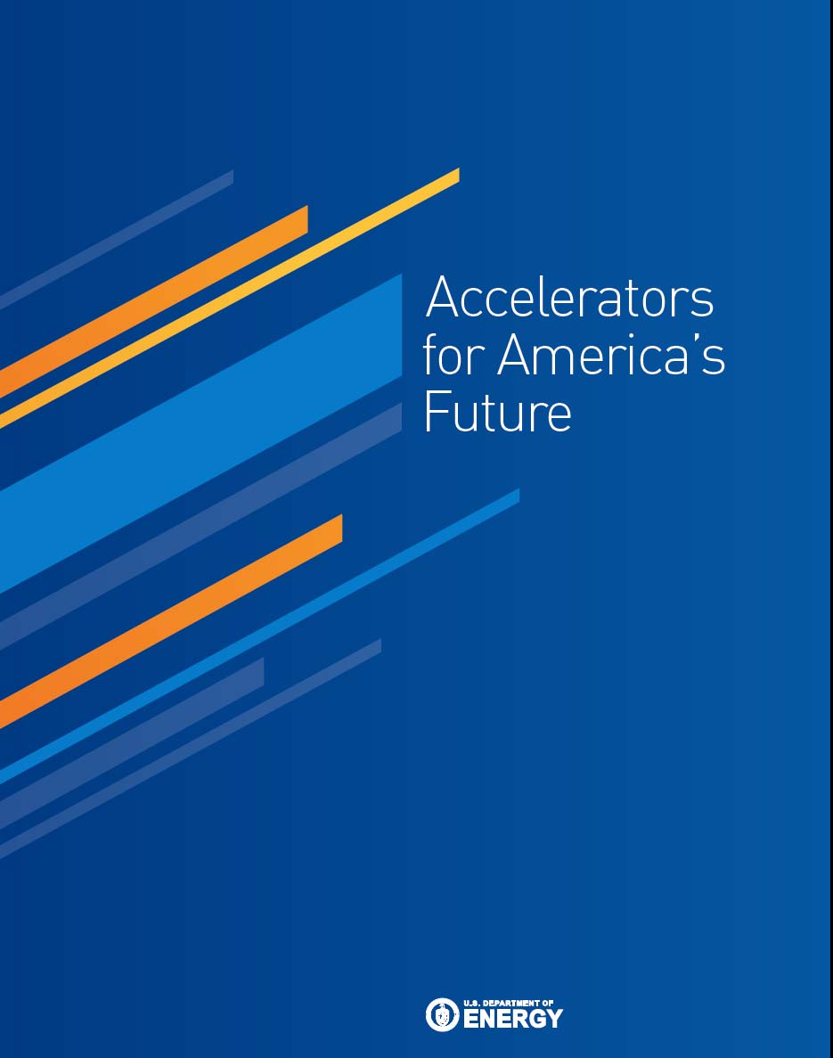 The report from the DoE accelerator workshop in 2009