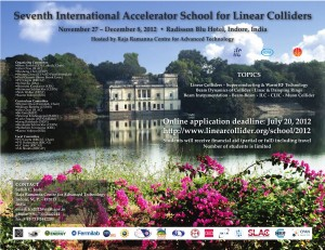 The poster for this year's Linear Collider Accelerator School