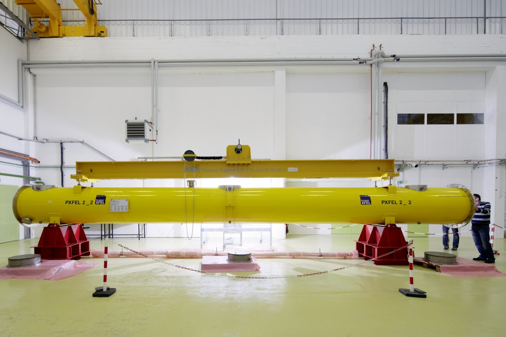 Training of the accelerator module production in Saclay