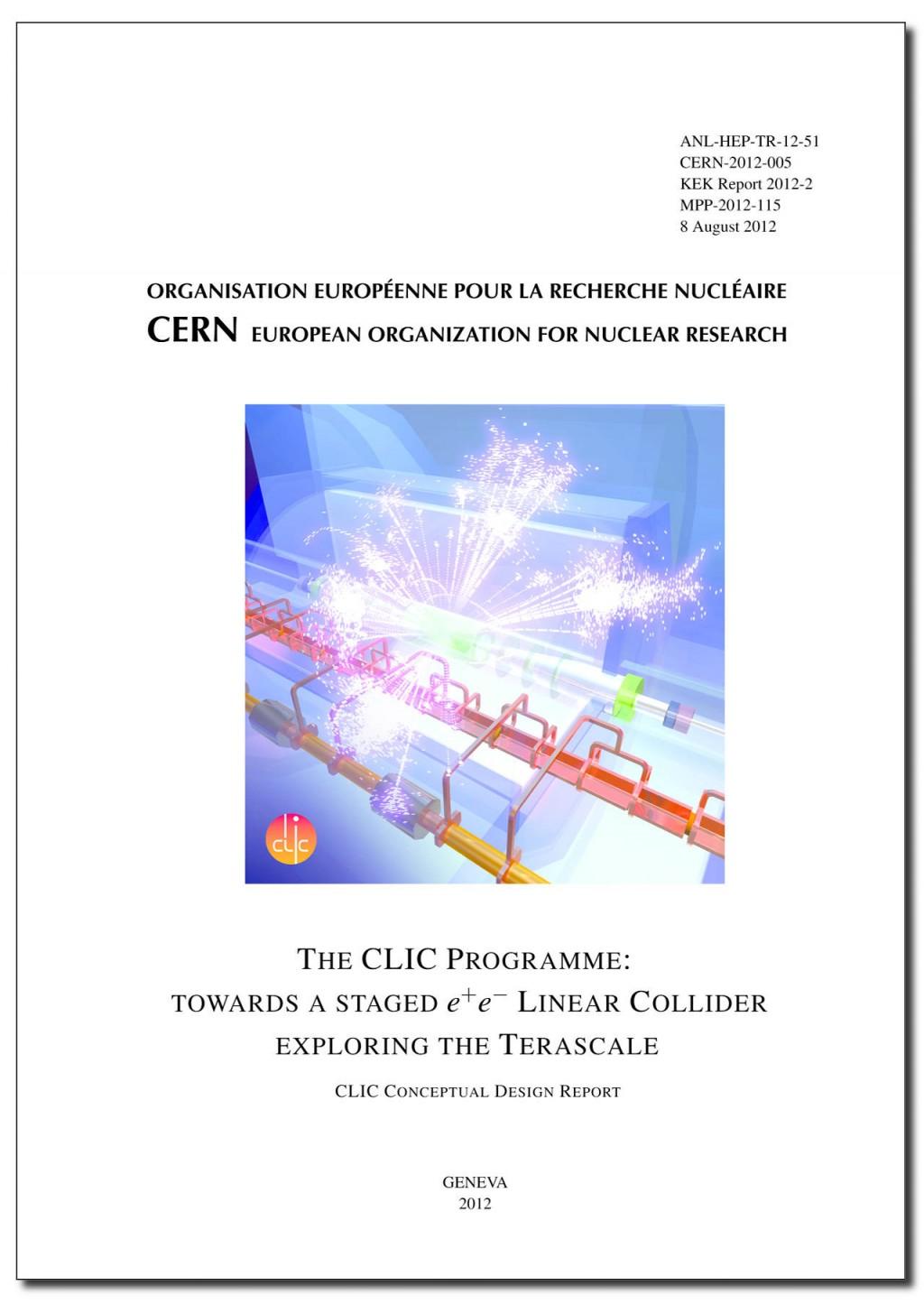 Volume 3 of the Conceptual Design Report