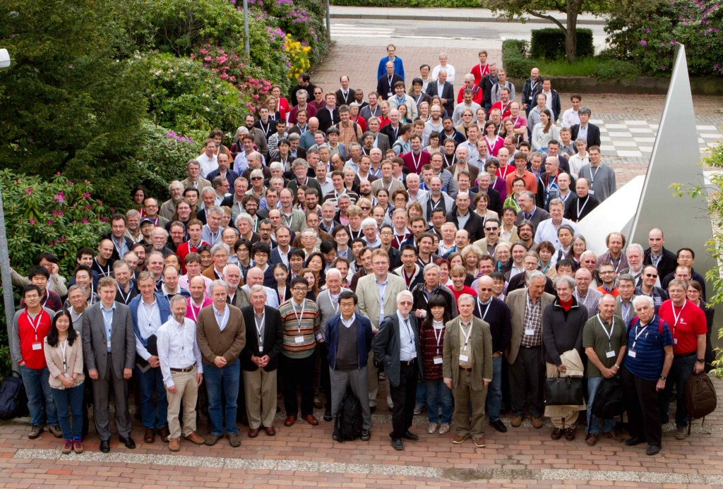 Participants of the ECFA Linear Collider workshop in Hamburg. Image: DESY