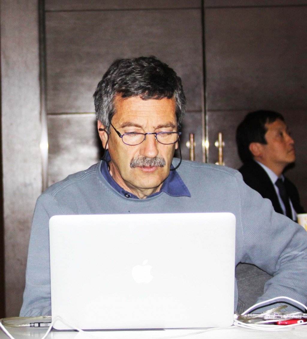 Fernando Ferroni, INFN, reported at FALC on the Italian SuperB project