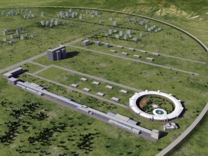 Artist's impression of the proposed CEPC Image: IHEP