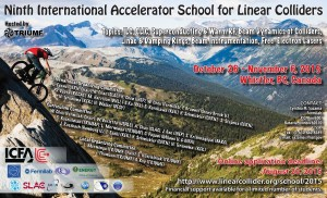 The poster of the 9th International Accelerator School