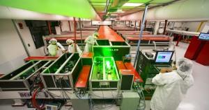 BELLA, the Berkeley Laboratory Laser Accelerator – an experimental facility for advancing the development of laser-driven plasma acceleration. Image: Roy Kaltschmidt, Lawrence Berkeley Nat'l Lab
