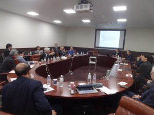 Snapshot from the recent ACFA meeting.