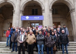 Group photo of the French Linear Collider Days on March 2016, Paris. Photo: Romain Andrieu (CEA/Irfu)