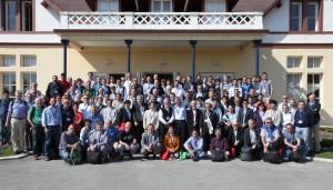 Workshop participants gather under the Spanish sun