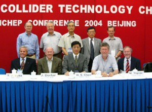 A bit of history: in 2004 the decision was taken to make the ILC cold.