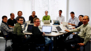 All hands on keyboard for the LC software week. Image: CERN