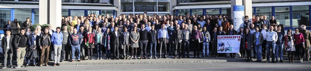 More than 200 people attended this year's CLIC workshop. Image: Matteo Volpi / CERN