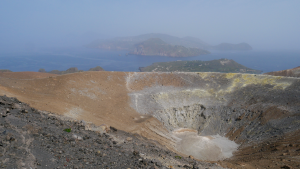 This vulcano will be the object of the first multi-disciplinary study, also including muography. Image: Cristina Carloganu