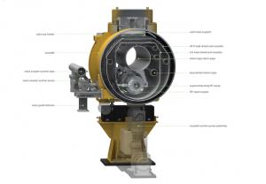 Cross section image of ILC cryomodule Image: Rey. Hori